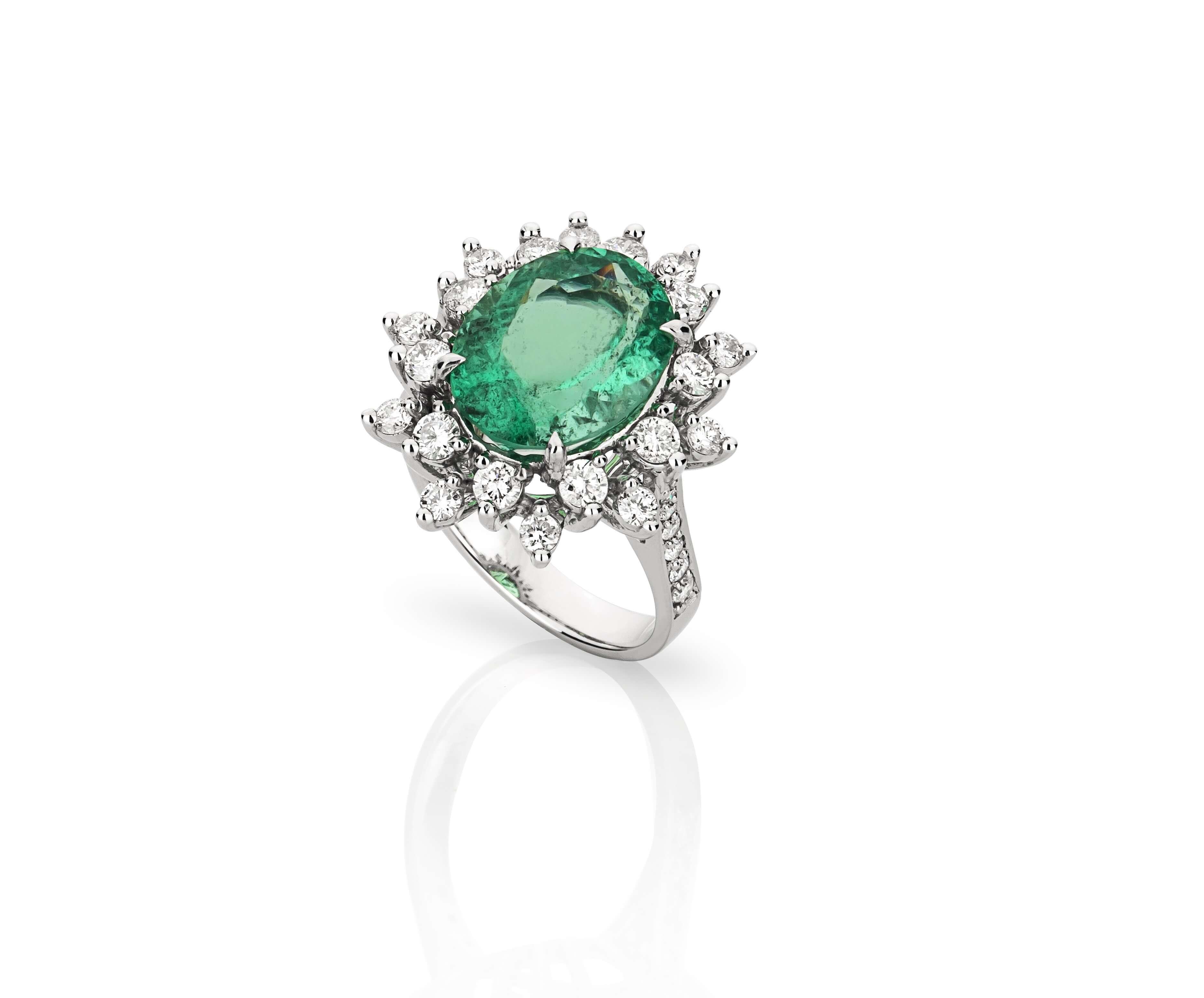 Deu verde esmeralda!