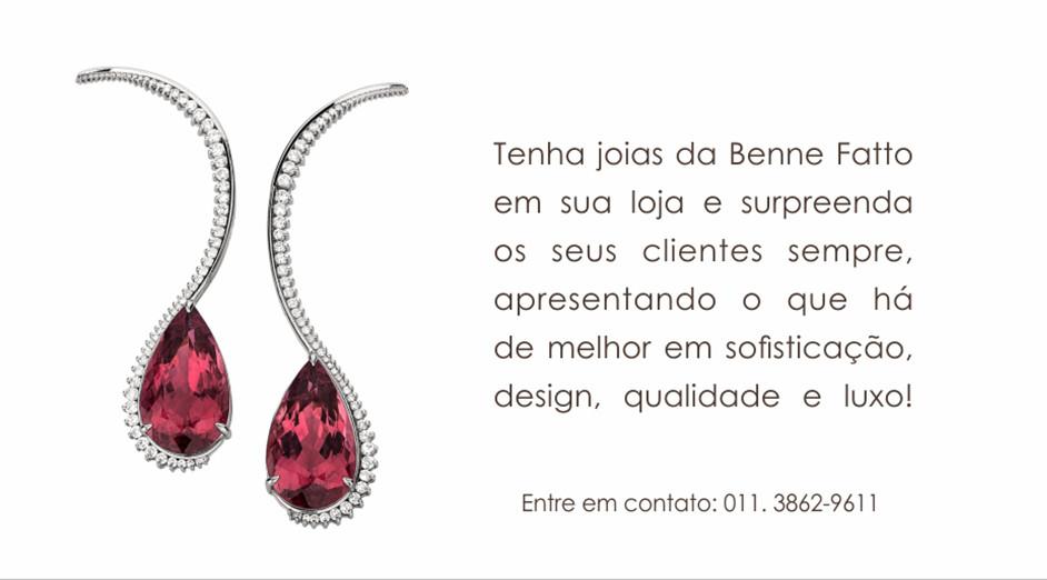 Tenha joias Benne Fatto em sua loja e surpreenda seus clientes